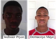 January SAT Scholarship Recipients: Webster Pryce and Demacoye Maye
